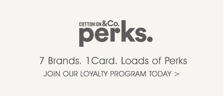 Cotton On & Co Perks