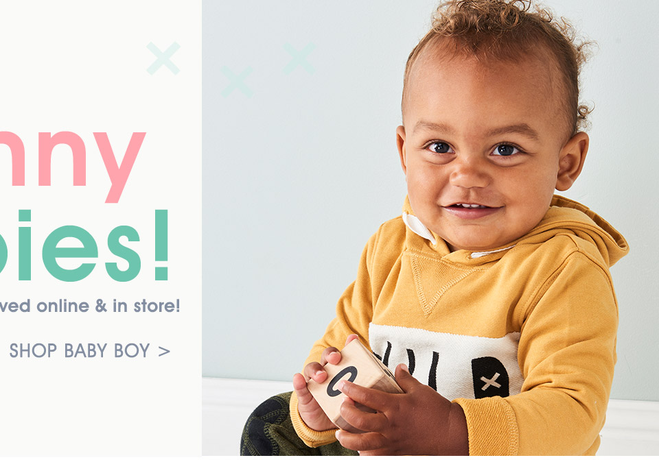 Cotton On Baby Boys New Arrivals